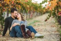 19 fall engagement in a vineyard will hint on your wedding venue