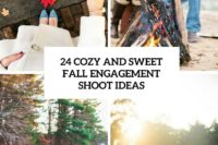 24 cozy and sweet fall engagement shoot ideas cover