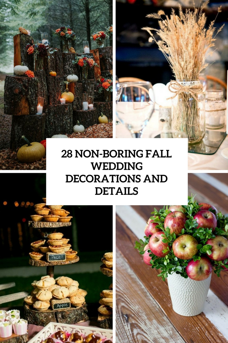 28 non boring fall wedding decorations and details weddingomania 28 non boring fall wedding decorations and details junglespirit Choice Image