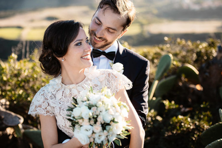 Vintage Chic Destination Wedding In Sardinia