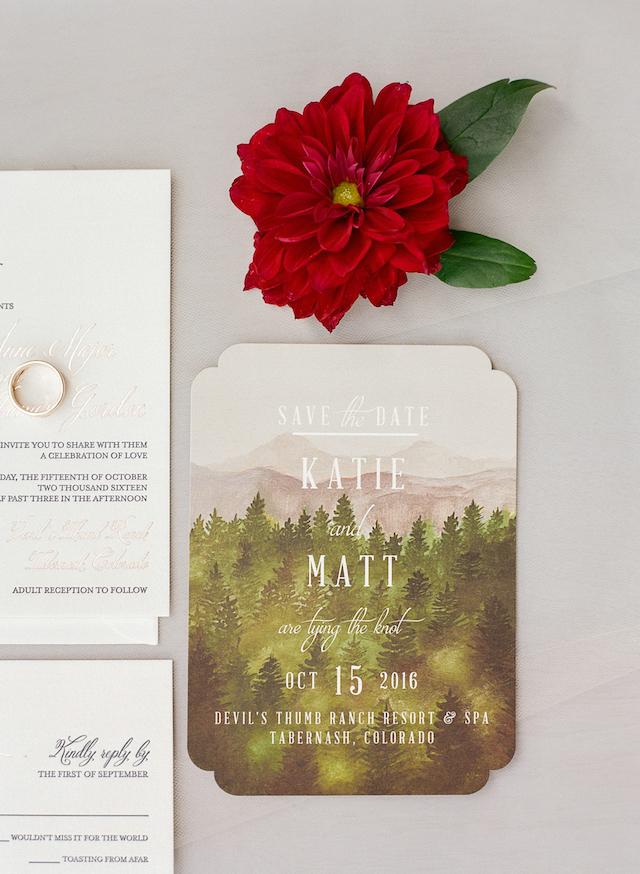 Romantische Herbst Hochzeit Mit Einem Rustikalen Gefühl In Colorado