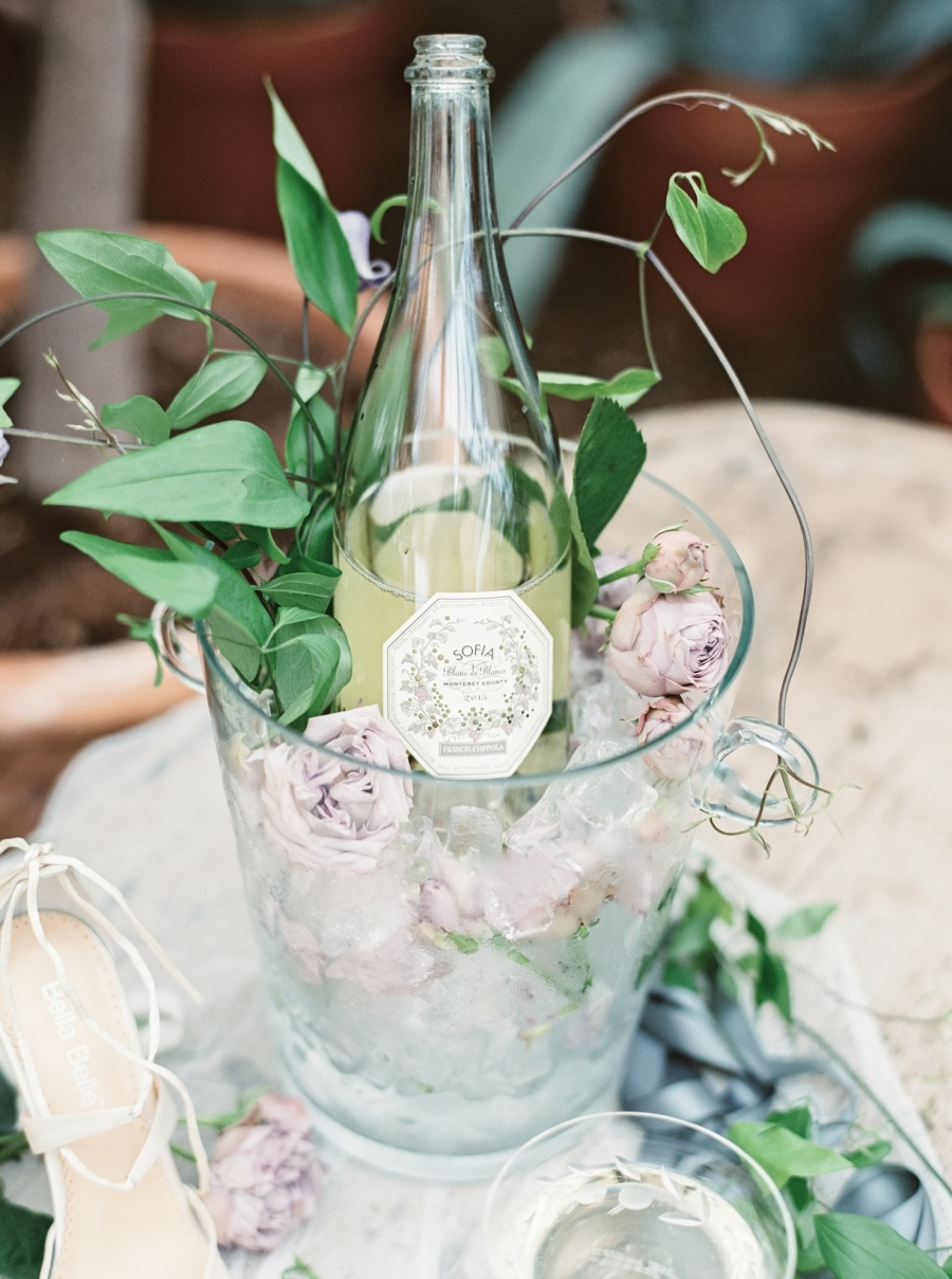 An orangerie as a wedding venue is a unique idea that has many advantages, and you'll get very organic decor