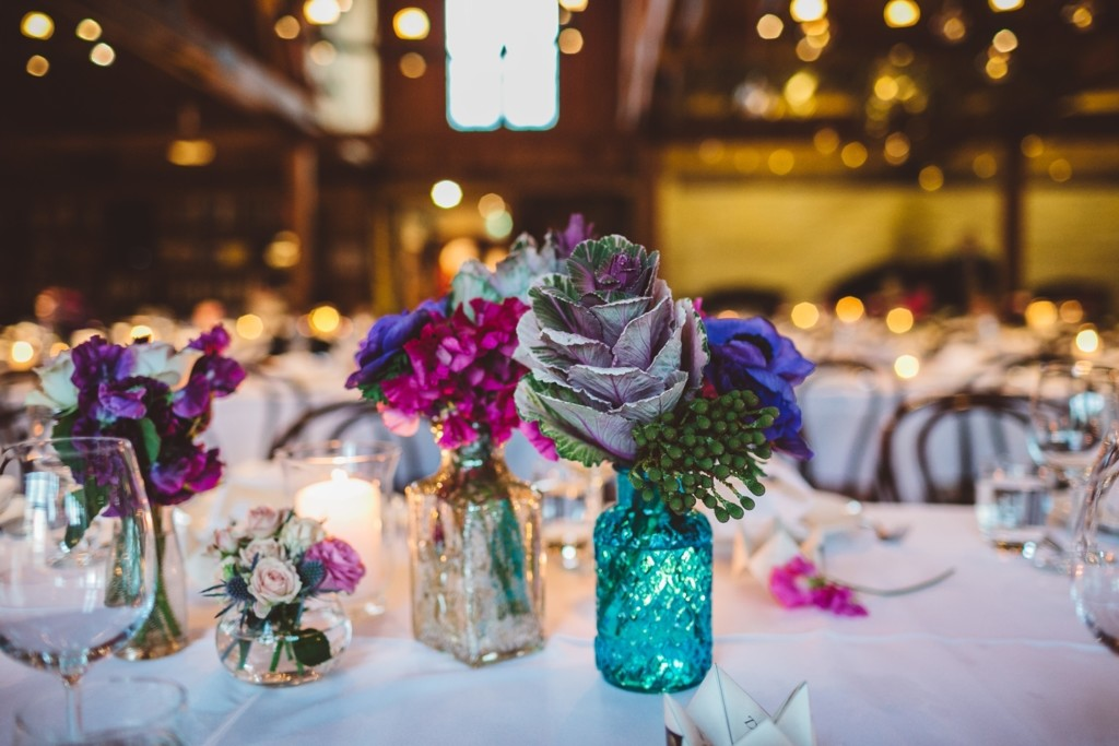 The variety of different vases was also brought and bought by the couple