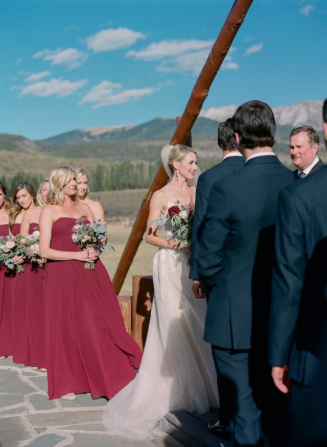 Die Braut sah einfach nur show-stopping, Sie war umwerfend