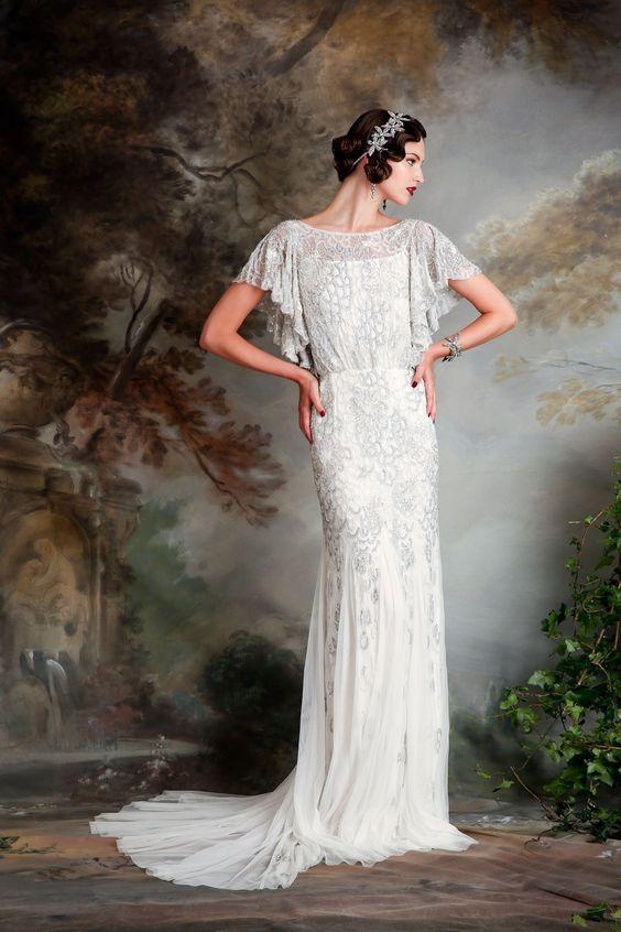 Wedding Dresses With Rhinestones 32 Best a bateau neckline wedding