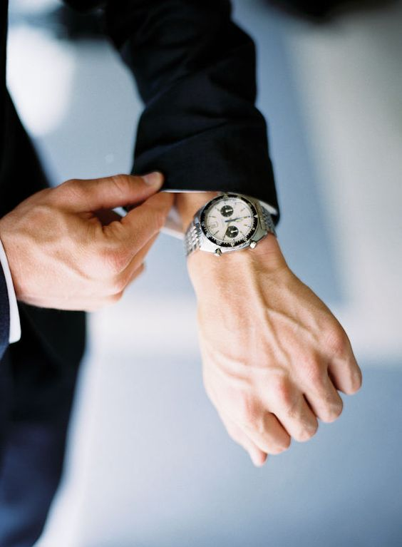 spoil your groom with a stylish watch that he will wear after the wedding too