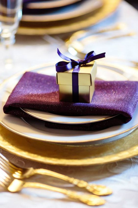 29 Refined Purple And Gold Wedding Ideas Weddingomania