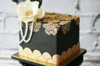 cake with feathers