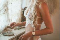 seductive lace lingerie