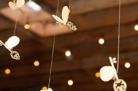 18 winged keys for wedding reception or ceremony decor