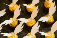 20 add wings to a Ferrero Rocher and you get instant golden snitch favours