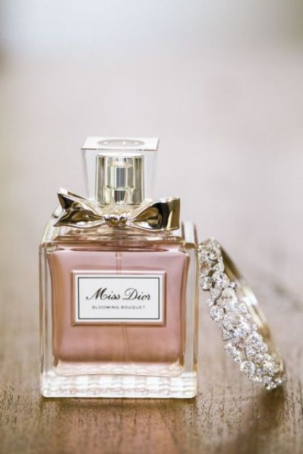 Miss Dior perfume for the bride on her big day