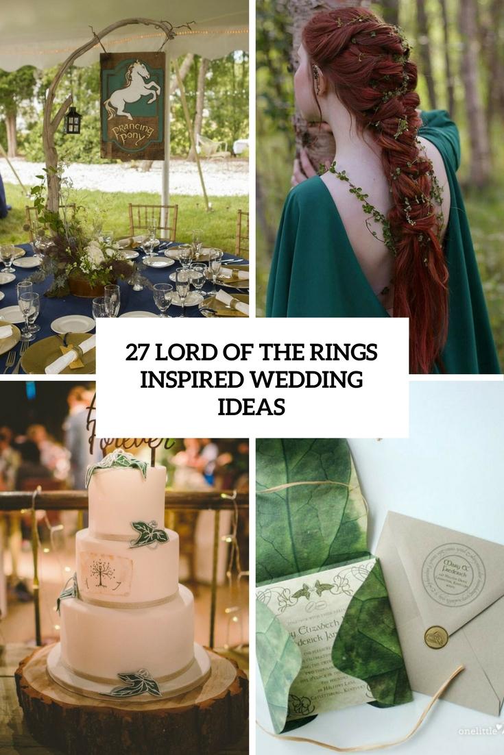 27 Lord Of The Rings Inspired Wedding Ideas - Weddingomania - us226