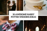 30 awesome harry potter wedding ideas cover