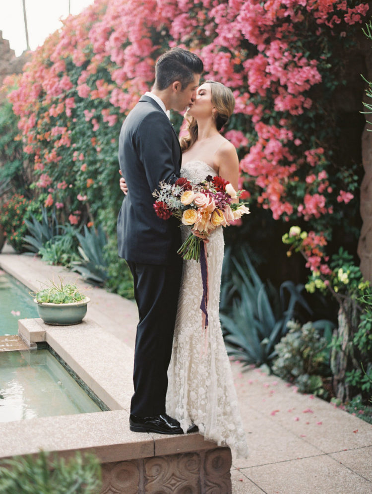 Eclectic LA Wedding With Old Hollywood Vibes