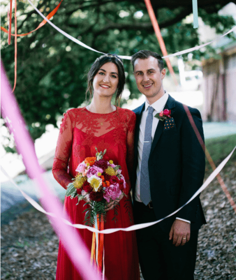 Colorful Wedding Inspired By Love To Music And DIY