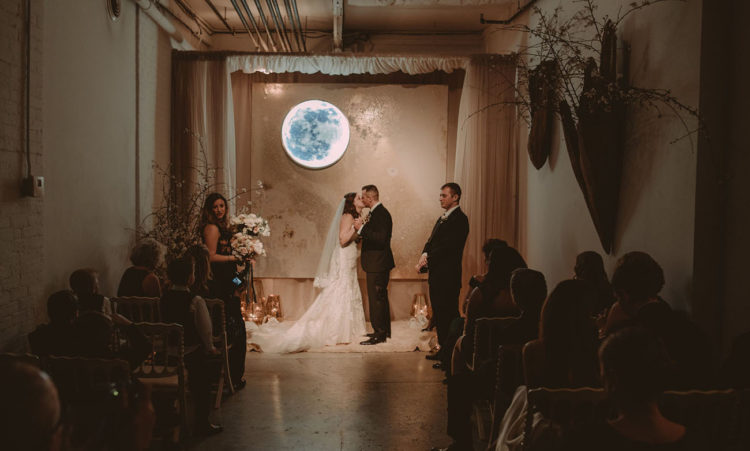 Dancing In The Moonlight: A Luxe Emerald Green Wedding