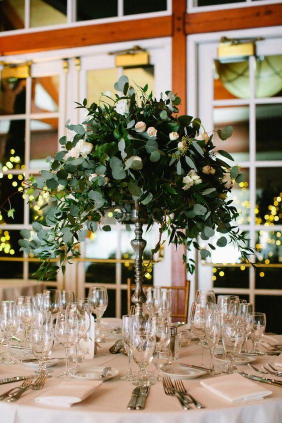 Gorgeous winter wedding centerpieces weddingomania