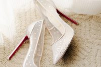 04 pointed sheer ivory wedding shoes with rhinestones look glam and chic