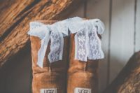 04 your favorite and comfy ugg boots can be customized with lace bows on the back