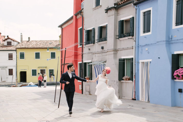What can be better than walking in Burano with its colorful houses
