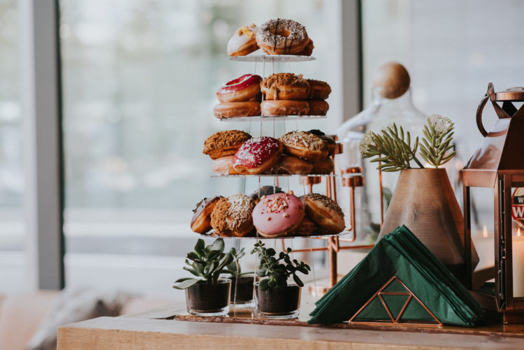 Look at this sweets tower instead of a traditional wedding cake - isn't it gorgeous