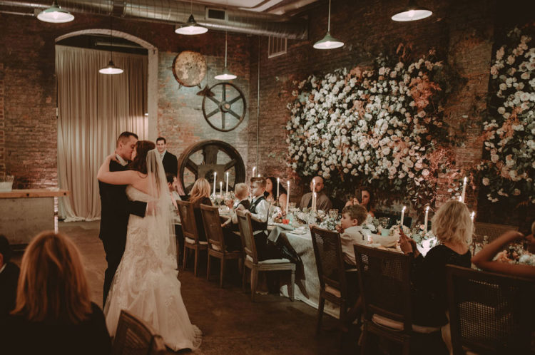 There were not many guests and the wedding felt really intimate and full of romance