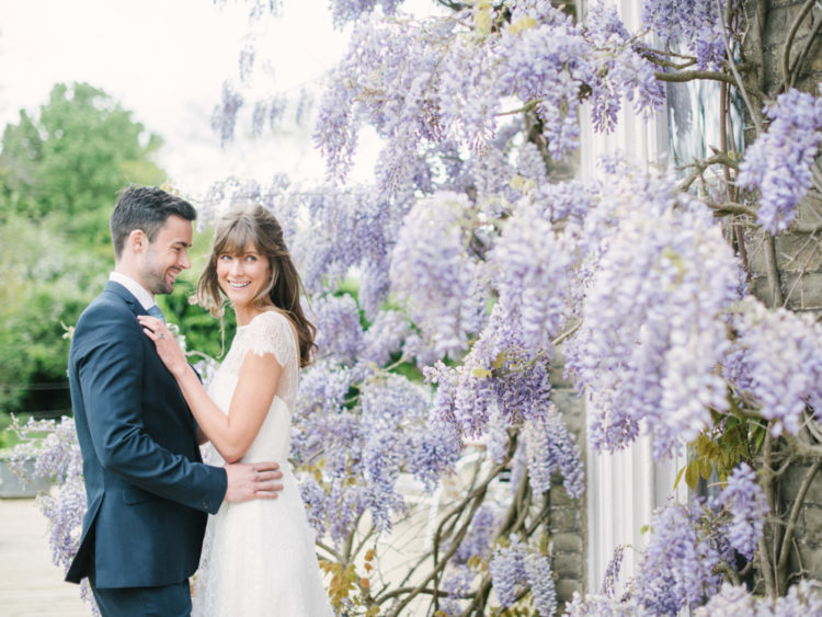 If you are a sucker for wisteria like us, get inspired by this shoot and steal some ideas for your wedding