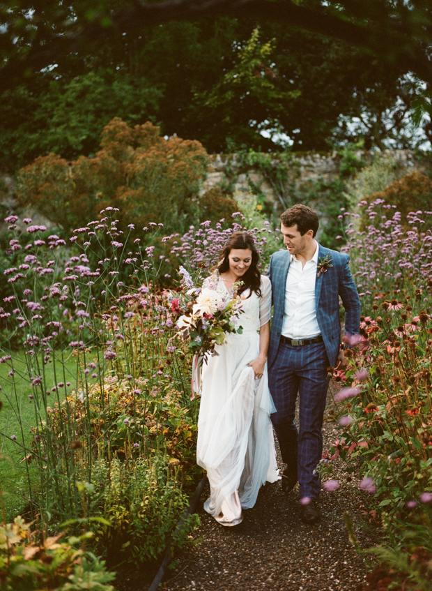 What a wonderful couple's portrait on a meadow