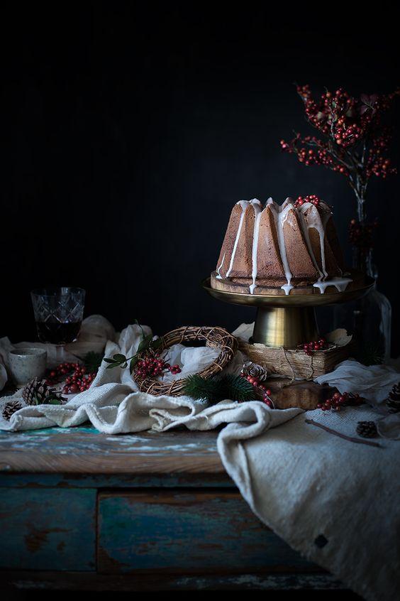Lebkuchen bundt Kuchen ist genau richtig für einen winter-feier