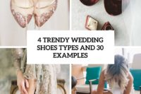 4 trendy wedding shoes types and 30 examples cover
