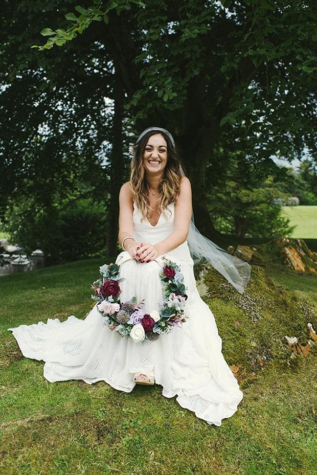 Alternative Boho Wedding Inspired By Music Festivals