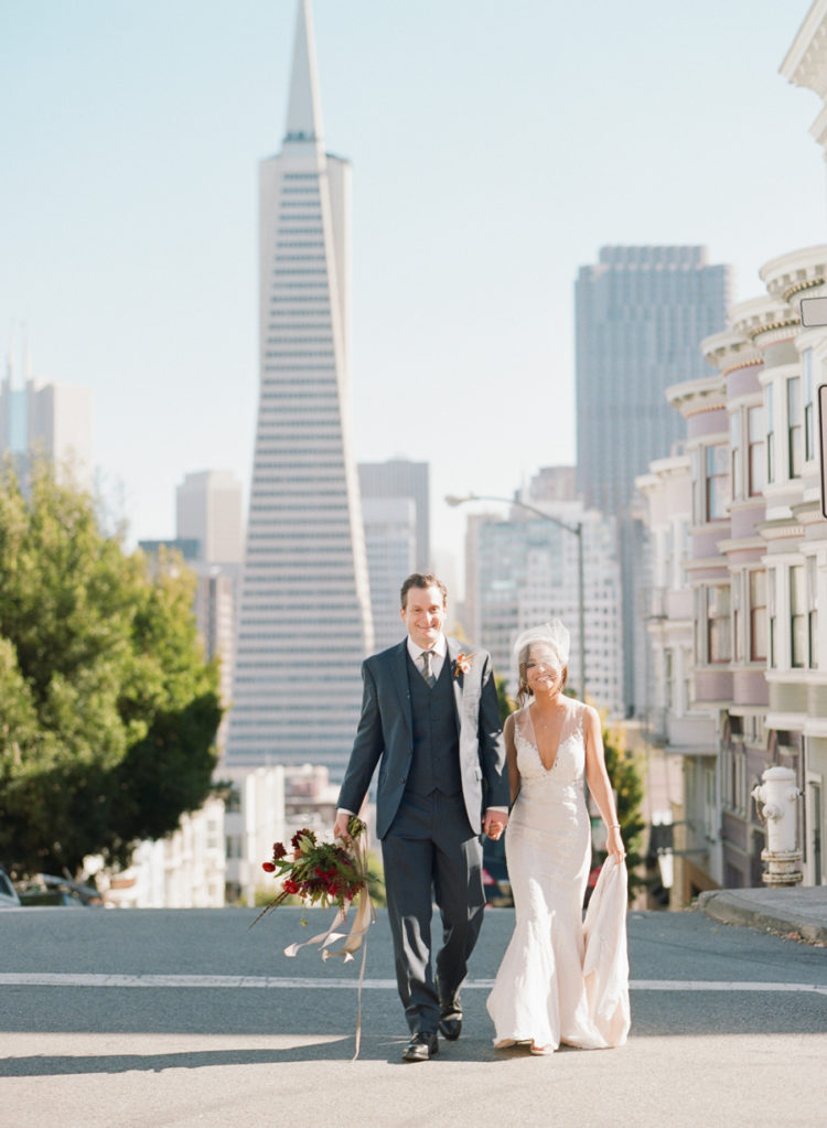Industrial Gallery Wedding With Gorgeous Art Deco Vibes
