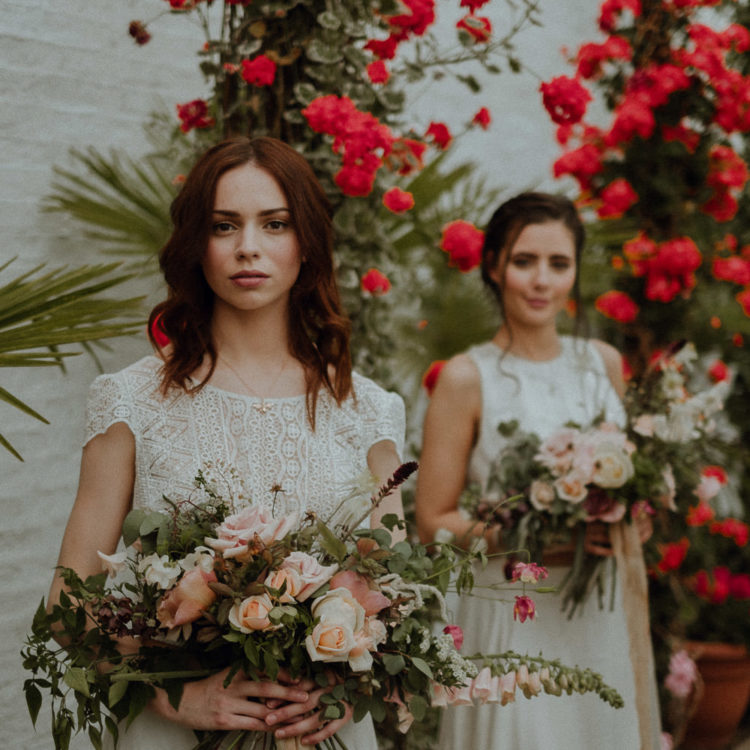 Romantic And Fantasy-Inspired Wedding Shoot In A Garden