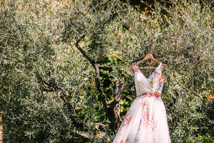 Wild Garden Destination Wedding In Tuscany