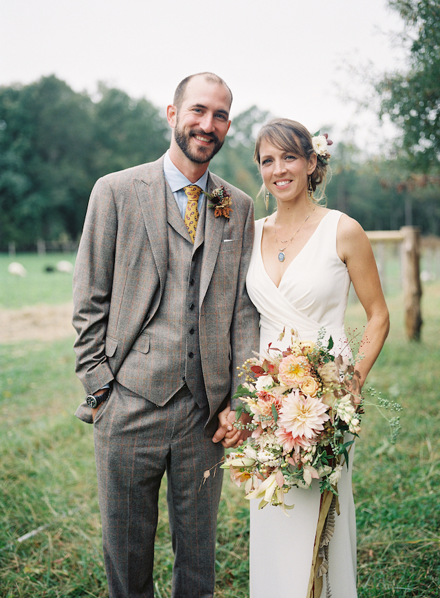 Picture Of The Groom Was Rocking A Vintage Style Three Piece Suit A