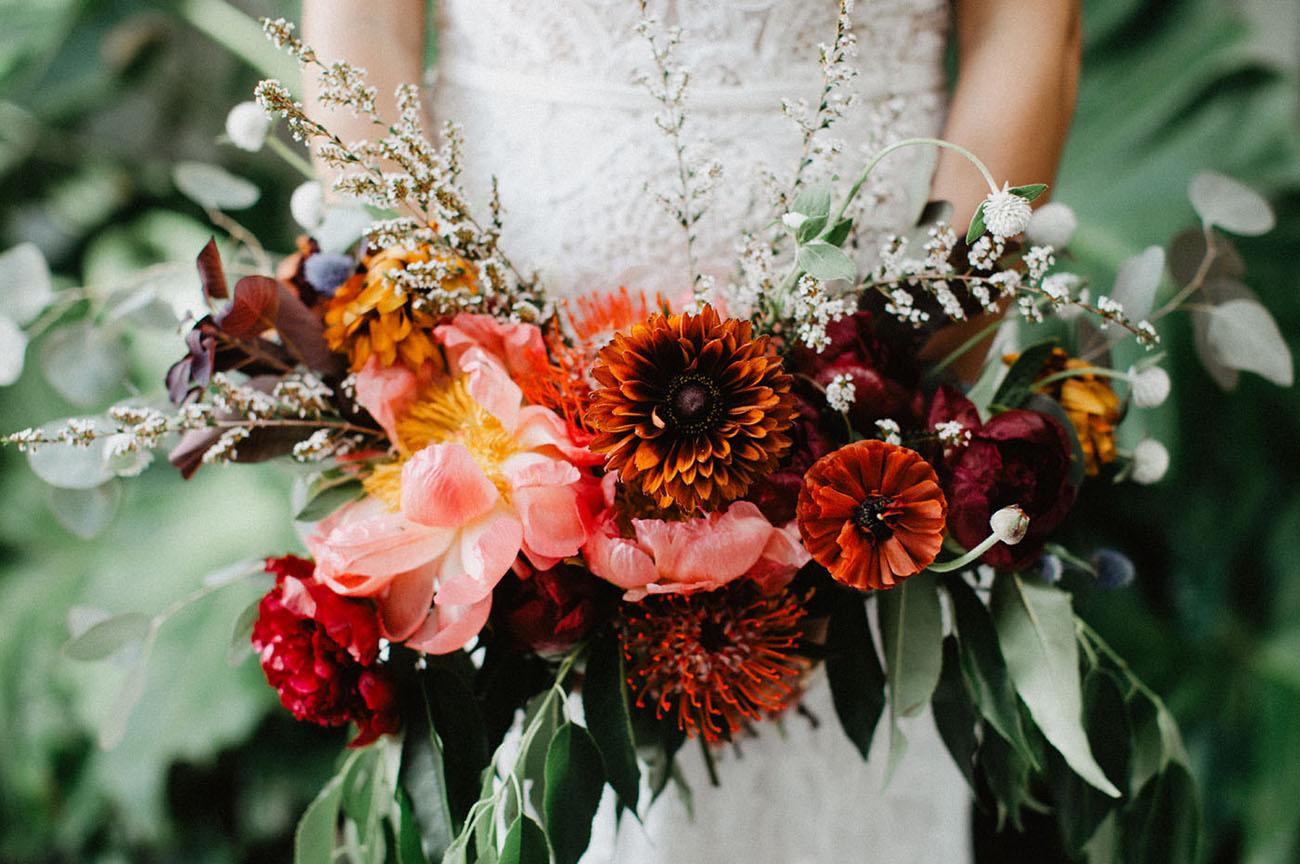 luxurious bridal bouquet
