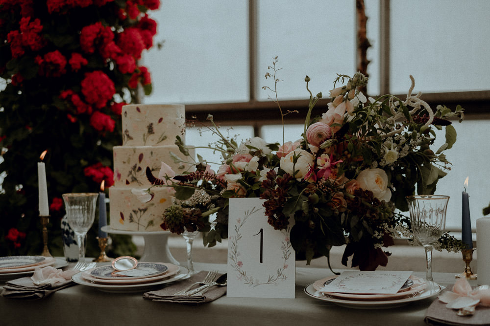 The blooms for the shoot were whimsical and soft