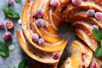 22 cranberry orange bundt cake is a great addition to a traditional one, it will give the guests a choice