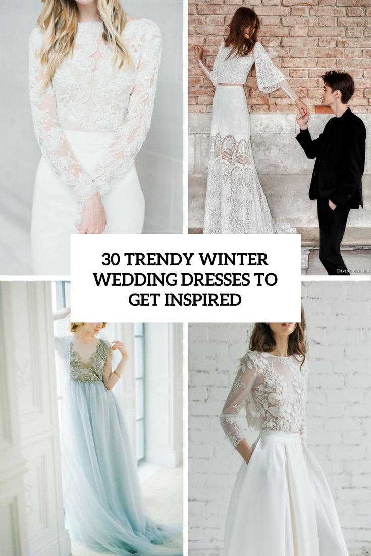 Winter Wedding Dress.30 Trendy Winter Wedding Dresses To Get Inspired Weddingomania