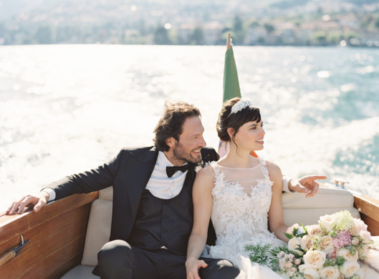 Romantic Lake Como Inspirational Wedding Shoot