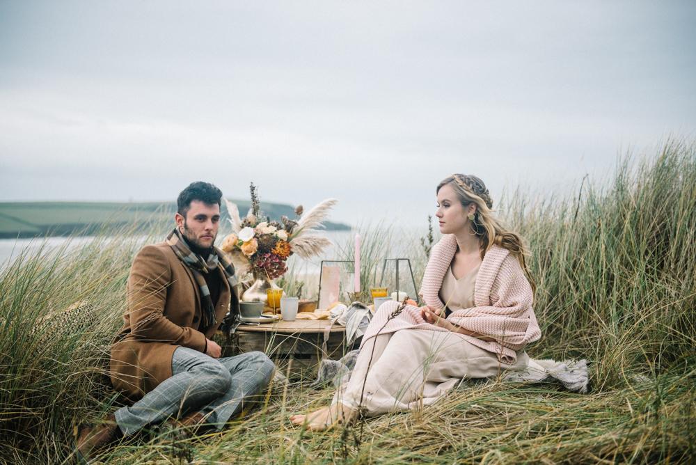 picnic wedding photo shoot