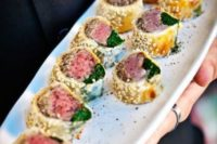 09 mini beef wellingtons are a fresh take on a traditional British appetizer