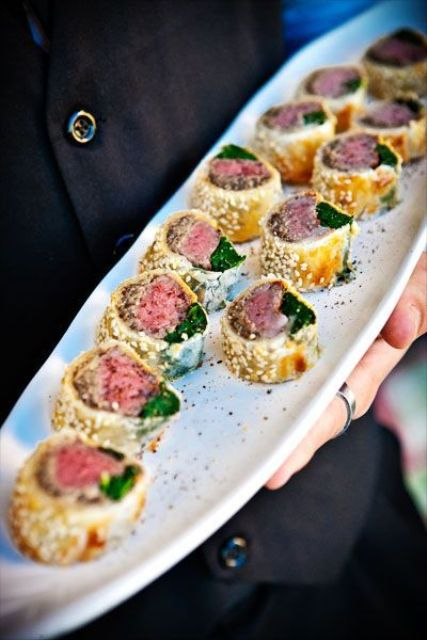mini beef wellingtons are a fresh take on a traditional British appetizer