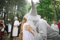 10 What a LOTR wedding without Gandalf