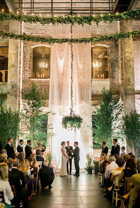 15 Gorgeous Indoor Wedding Backdrops To Try - crazyforus