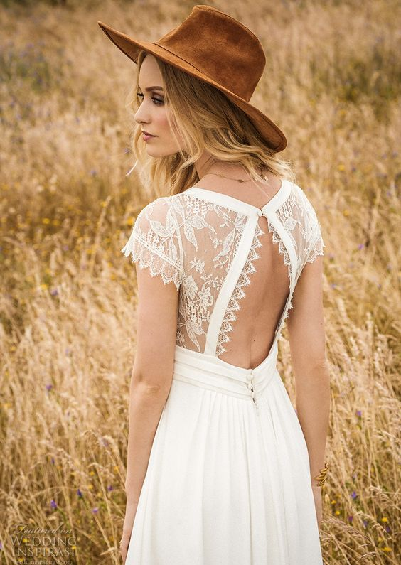cutout wedding dress