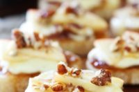22 brie, apple and honey crostini can be a nice hot appetizer for both fall and winter