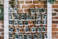 25 a frame with the couple's photos will be a heart-warming dedcoration for any venue