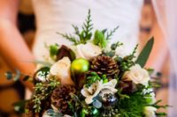 really creative winter bouquet